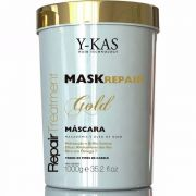 Máscara De Tratamento Ykas Gold Mask Repair 1kg