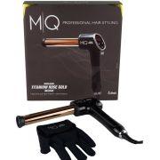 MQ Modelador de Cachos Rose Gold Titanium Deluxe 25mm - Bivolt