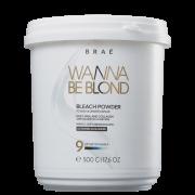 Pó Descolorante BRAÉ Wanna Be Blond 500g