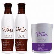 Portier Cacao Progressiva e Portier Btox Violet 1kg