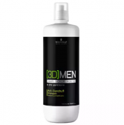 Shampoo Anti Caspa 3D Men Schwarzkopf 1000ml