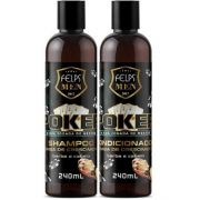 Shampoo e Condicionador Felps Men Poker 2x240ml