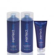Tratamento Pós Alisamento Home Care Perfectliss Advanced (3 Produtos)
