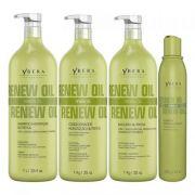 Ybera Renew Oil Kit Hidratação Nutritiva 4 Passos