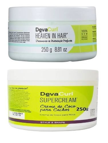 Deva Curl Heaven In Hair 250g E Deva Curl Supercream 250g