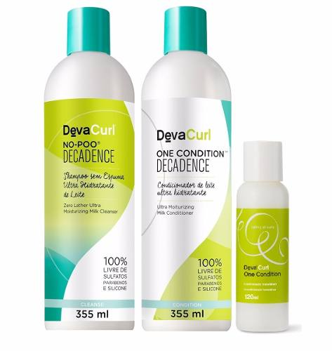 Kit Deva Curl Decadence 355ml E One Condition 120ml