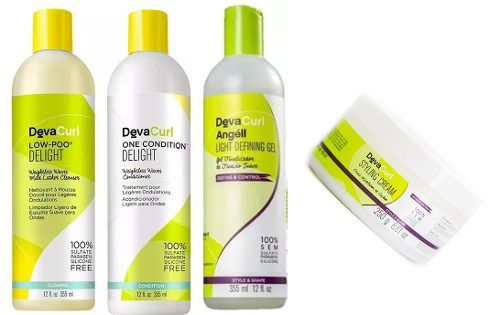 Deva Curl Delight Low Poo One Cond, Angell E Styling 250g