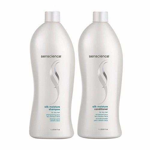 Shampoo e Condicionador Senscience Silk Moisture 2x1000ml