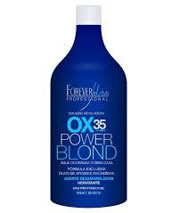 Água Oxigenada Power Blond 35 Volumes Forever Liss 900ml
