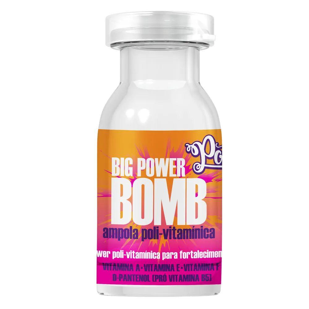 Ampola Poli-Vitamínica Big Power Bomb Soul Power 12ml
