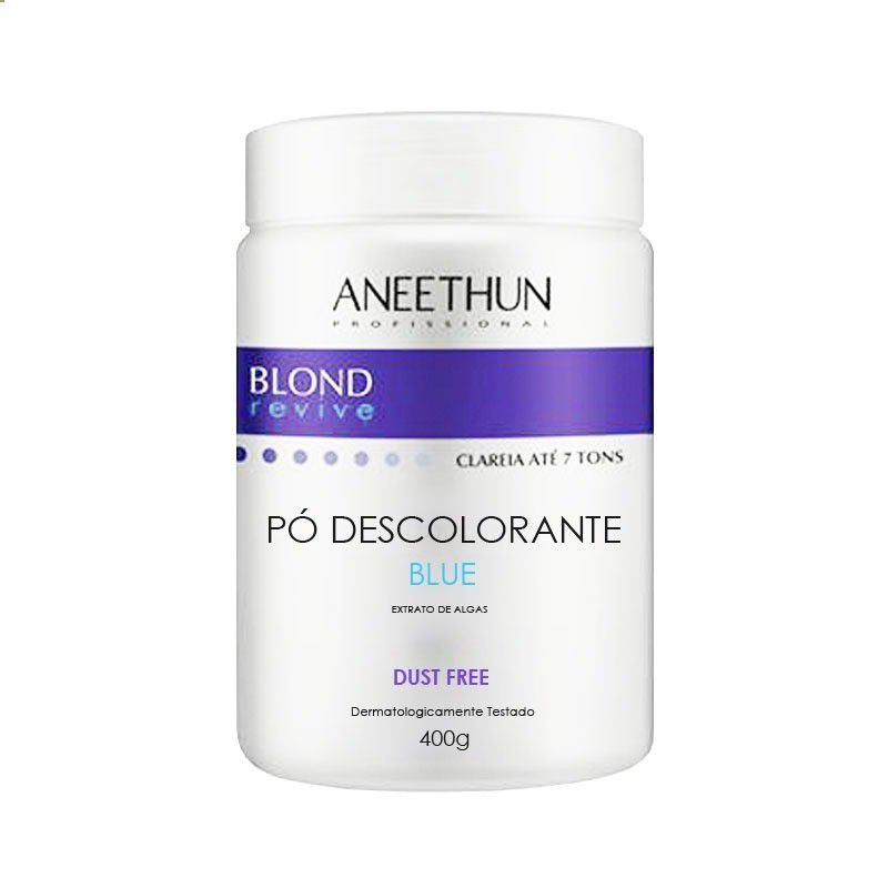 Aneethun Blond Revive Pó Descolorante Azul 400 g