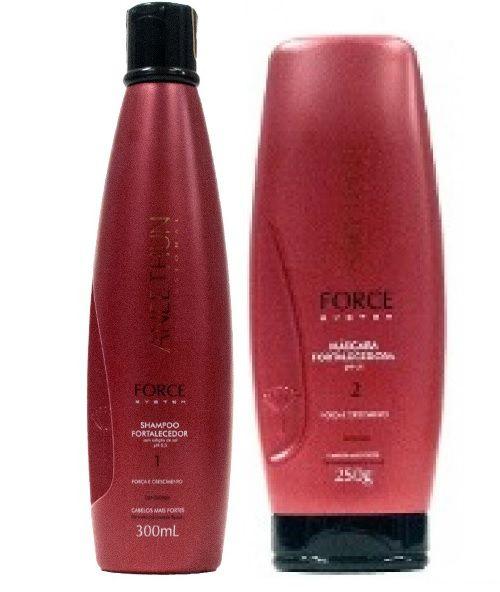 Kit Aneethun Shampoo e Mascara Force System