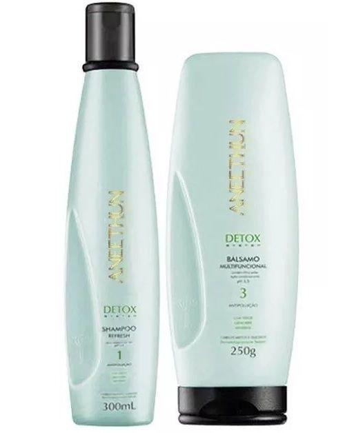 Aneethun Shampoo e Balsamo Detox System