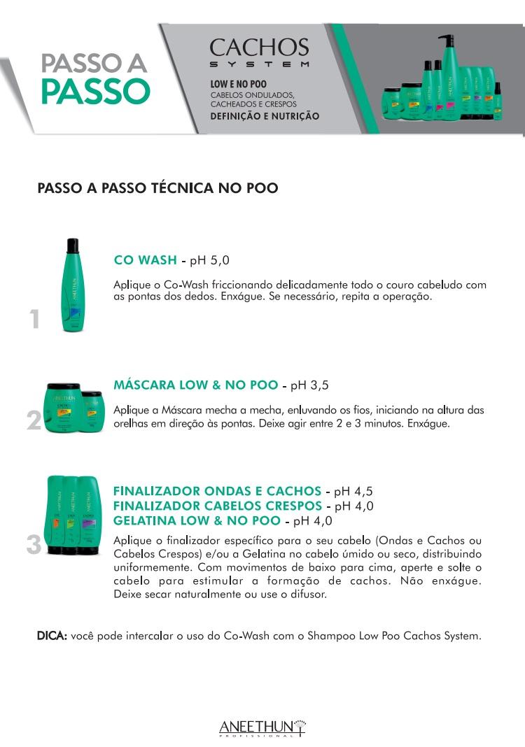 Aneethun Shampoo Low Poo Cachos System 300ml
