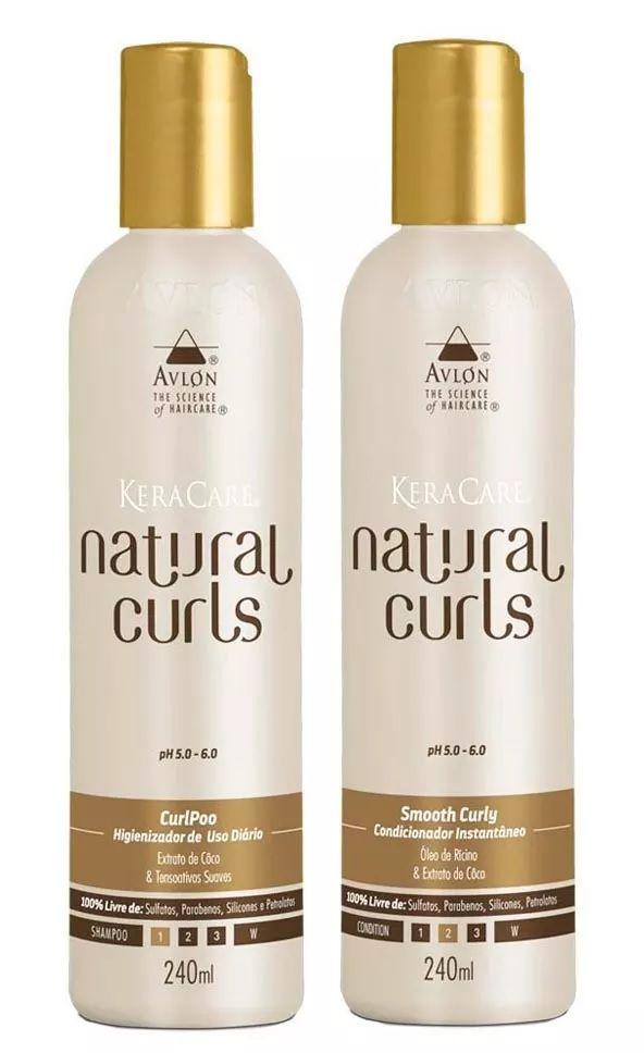 Avlon Keracare Kit Natural Curls ( 2 Itens )