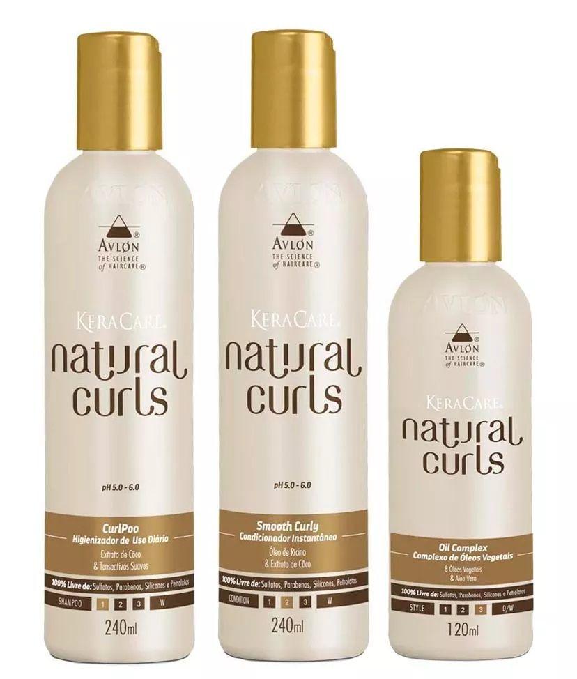 Avlon Keracare Kit Natural Curls ( 3 Itens )