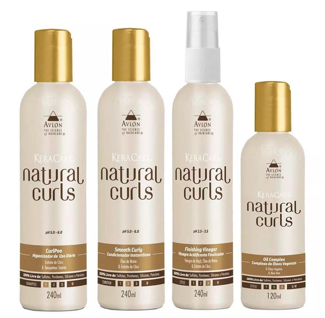 Avlon Keracare Kit Natural Curls ( 4 Itens )