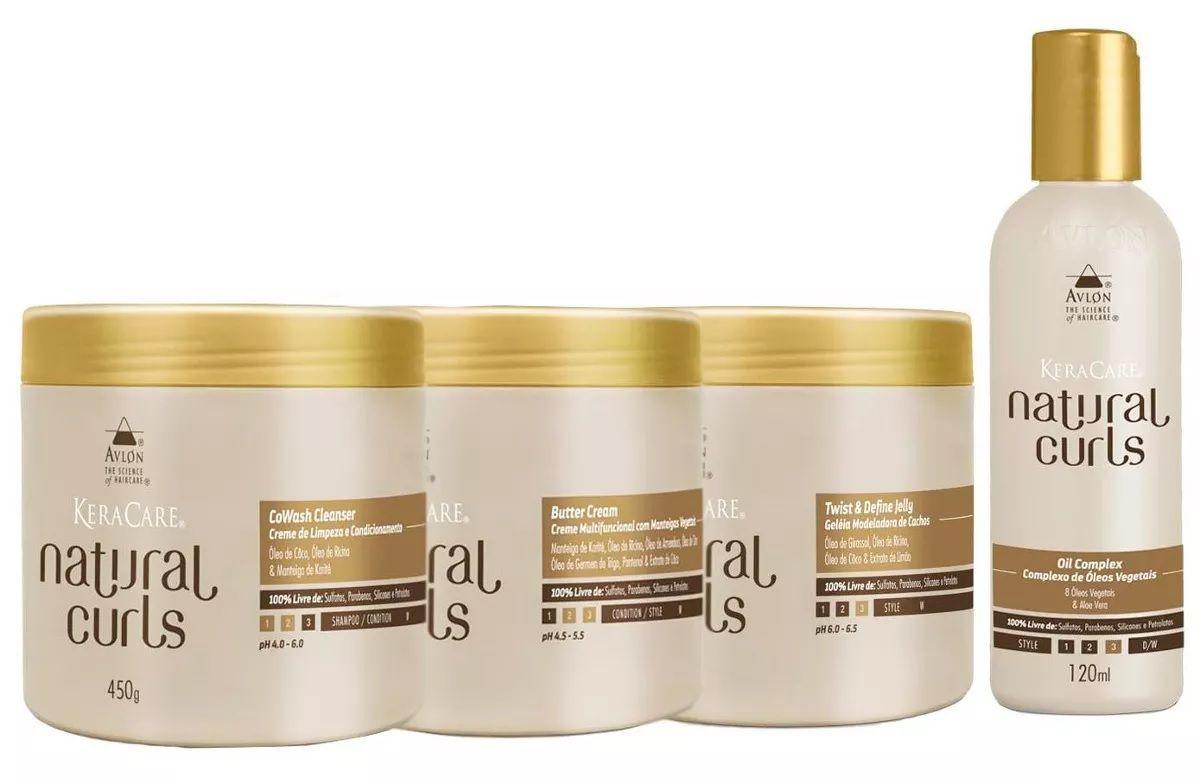Avlon Natural Curls ( 4 Produtos )