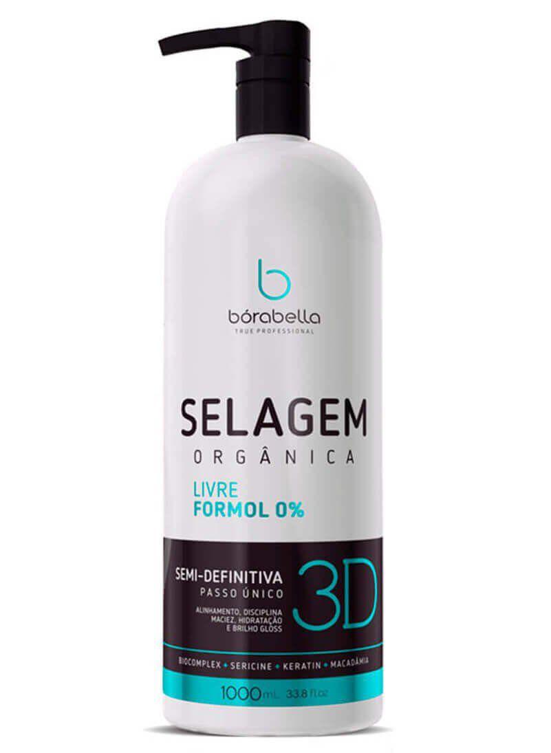 Borabella Selagem Orgânica Semi Definitiva 3D 1000ml
