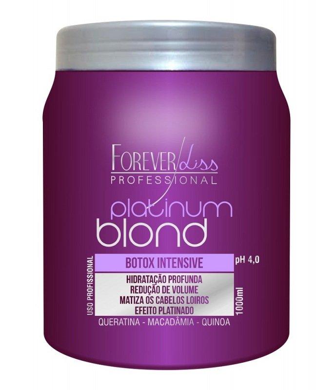 Btox Matizador Platinum Blond Forever Liss 1000g