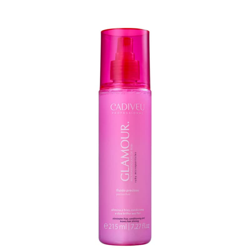 Cadiveu Glamour Rubi Fluido Precioso Spray Anti-Frizz 200ml
