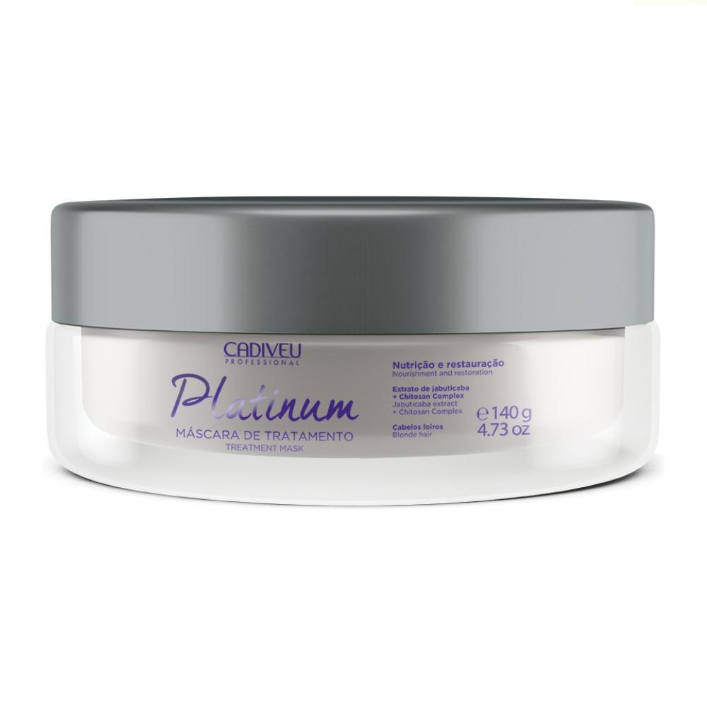 Cadiveu Platinum Mascara de Tratamento 140G