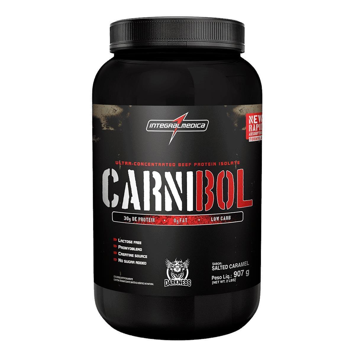 Carnibol 907g Caramelo - Integral Médica