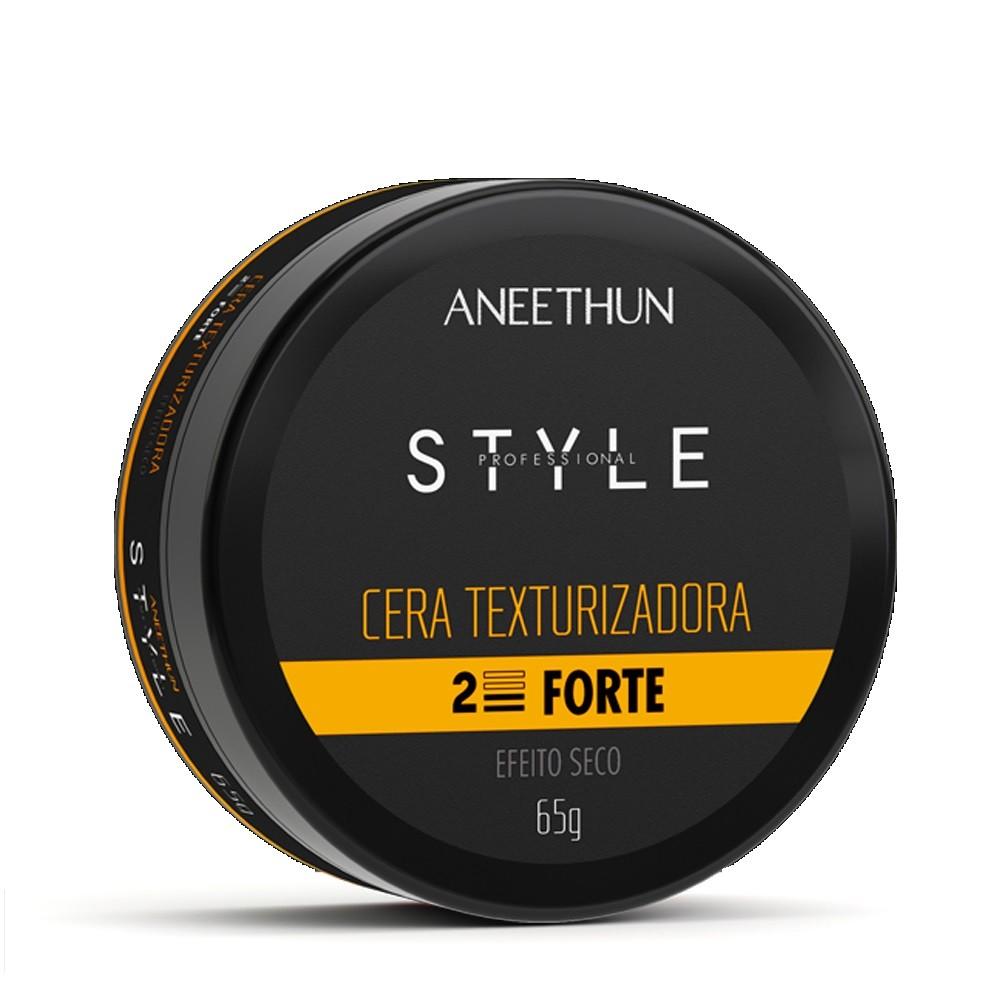 Cera Texturizadora Forte Aneethun Efeito Seco 65g