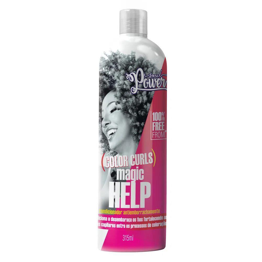 Condicionador Antiemborrachamento Soul Power Color Curls Magic Help 315ml