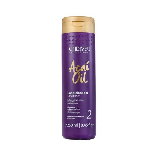 Condicionador Cadiveu Açaí Oil 250ml