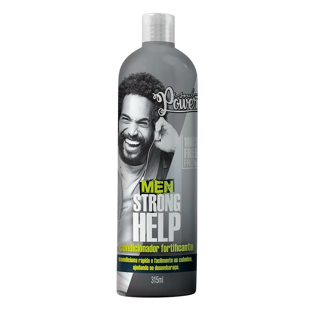 Condicionador Fortificante Soul Power Men Strong Help 315ml