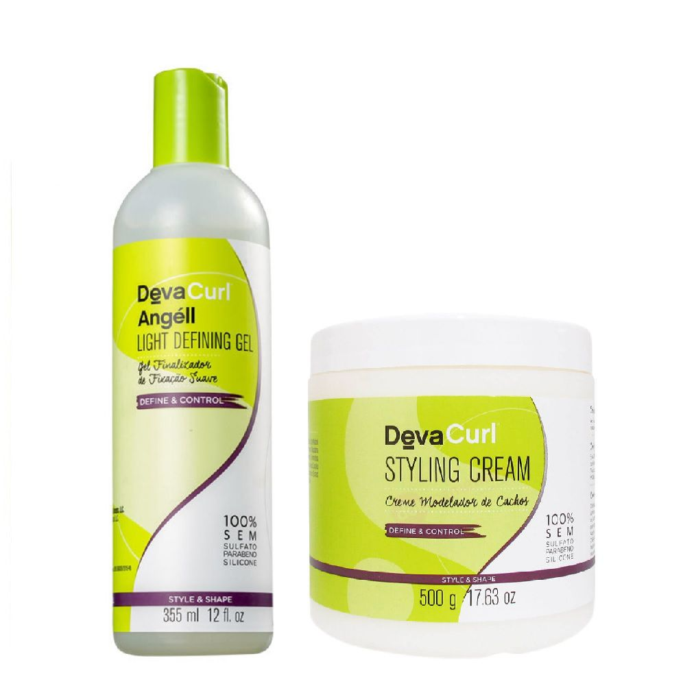 Deva Curl Angell 355ml e Styling Cream 500g