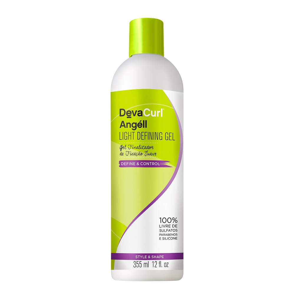 Deva Curl Angell 355ml E Supercream 500g E Frizz Free 150ml e Escova Mágica