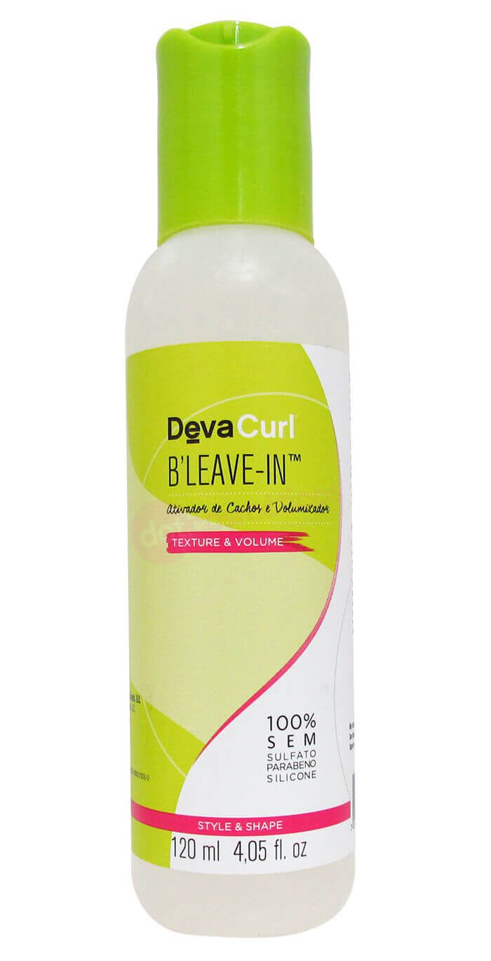 Deva Curl B Leave in Finalizador Condicionante - 120 ml