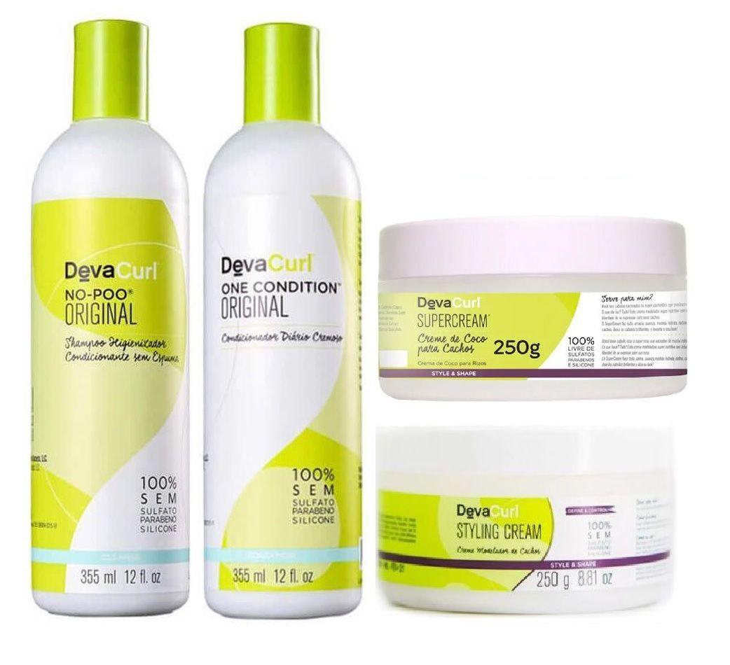 Deva Curl Concept Semi Profissional ( 4 Itens )