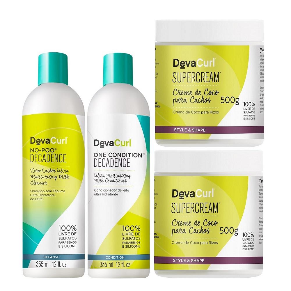 Deva Curl Decadence 355ml E 2 Supercream 500g