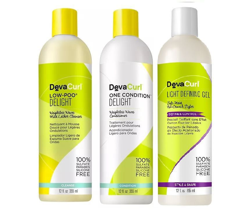 Deva Curl Delight Low Poo, One Condition 355ml, Angell 355ml