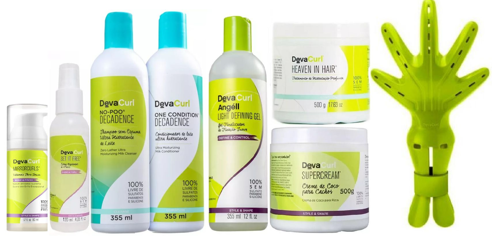 Deva Curl Kit Especial (8 Produtos)