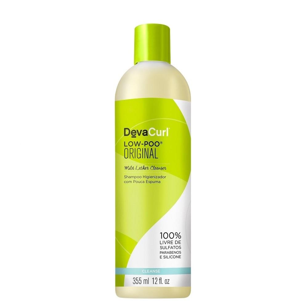 Deva Curl Low Poo One Cond Original 2x355ml e Styling Cream 250g