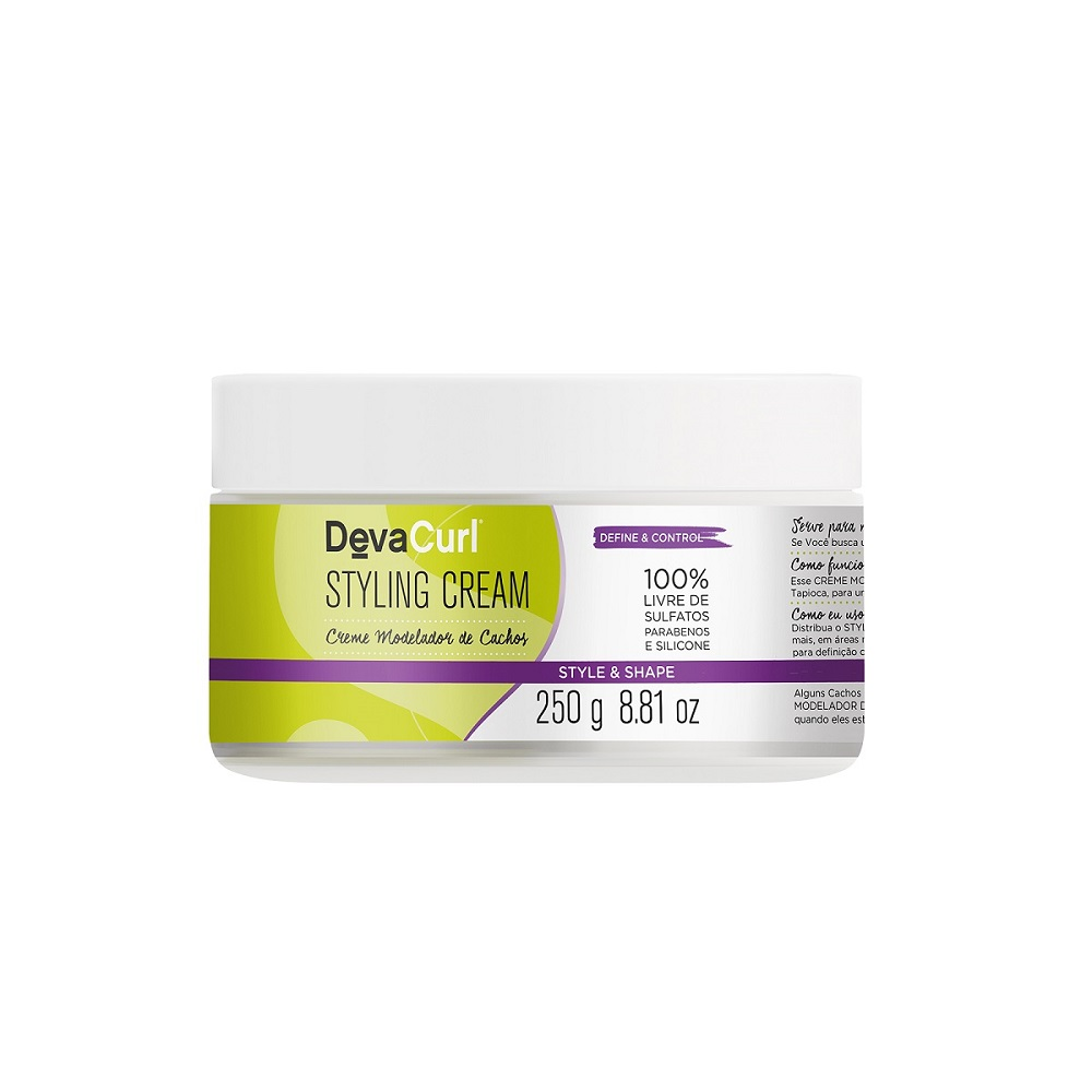 Deva Curl Low Poo, Styling Cream, Heaven Hair e Set It Free