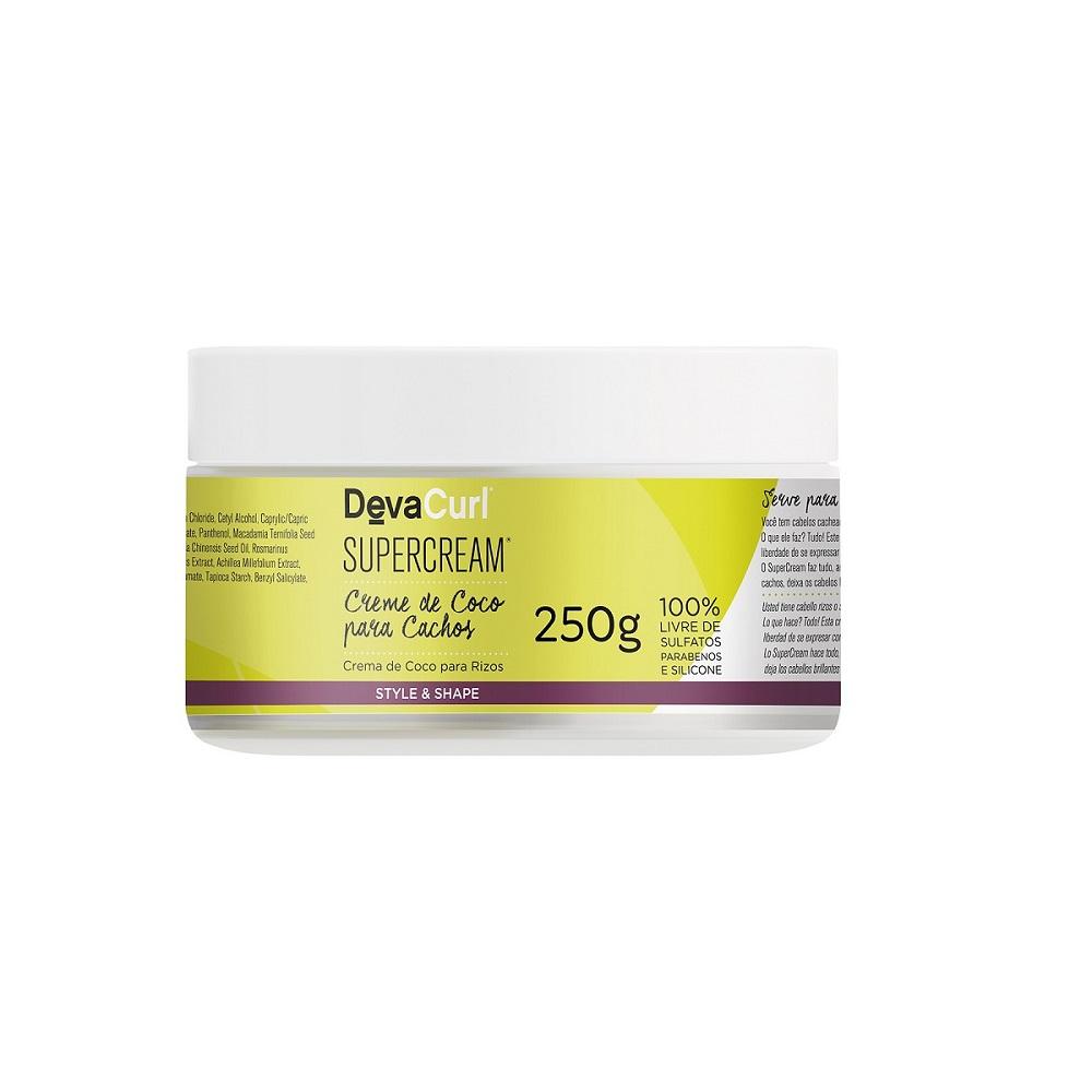 Deva Curl No Poo 355ml Styling Cream 250g e Supercream 250g