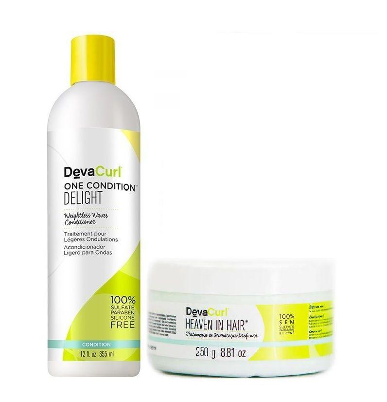Deva Curl One Condition Delight 355ml e Heaven in hair 250g