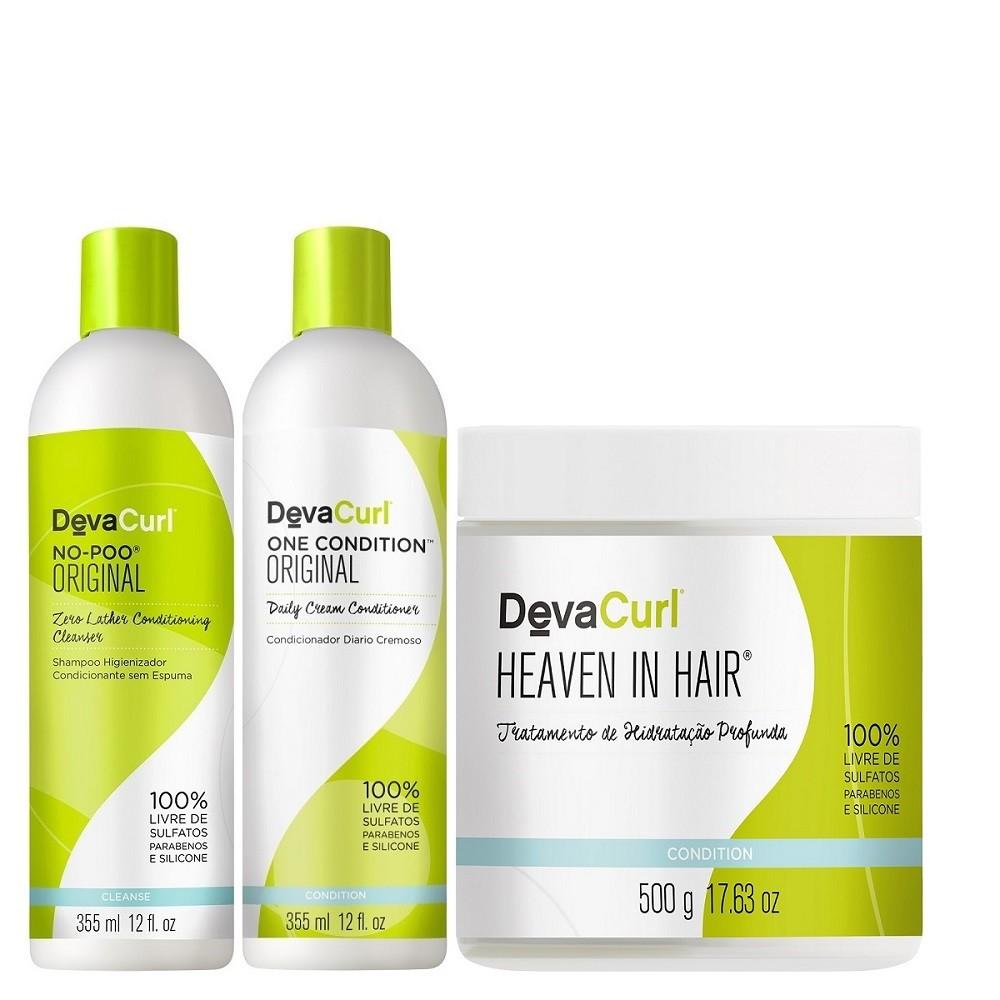 Deva Curl Original 2x355ml e Heaven in Hair 500g