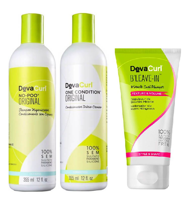 Deva Curl Original 2x355ml e B´Leave-in 200ml