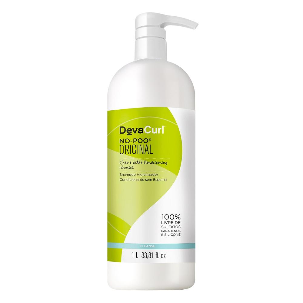 Deva Curl Shampoo No Poo 1000ml e Supercream 500g