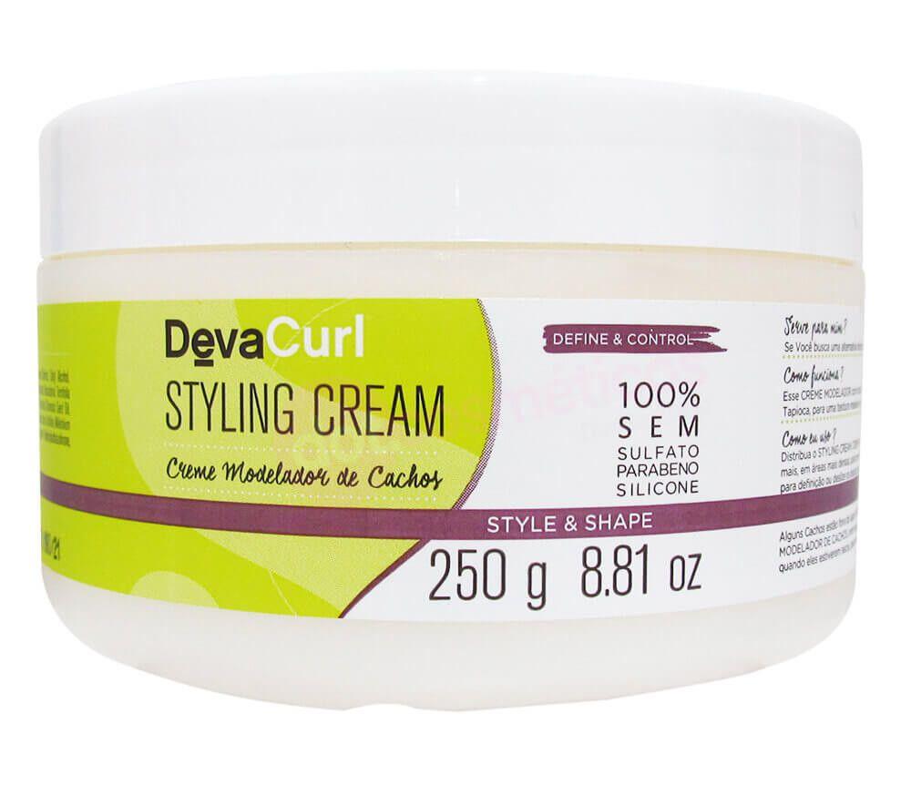 Deva Curl Styling Cream Creme para Cachos 250g