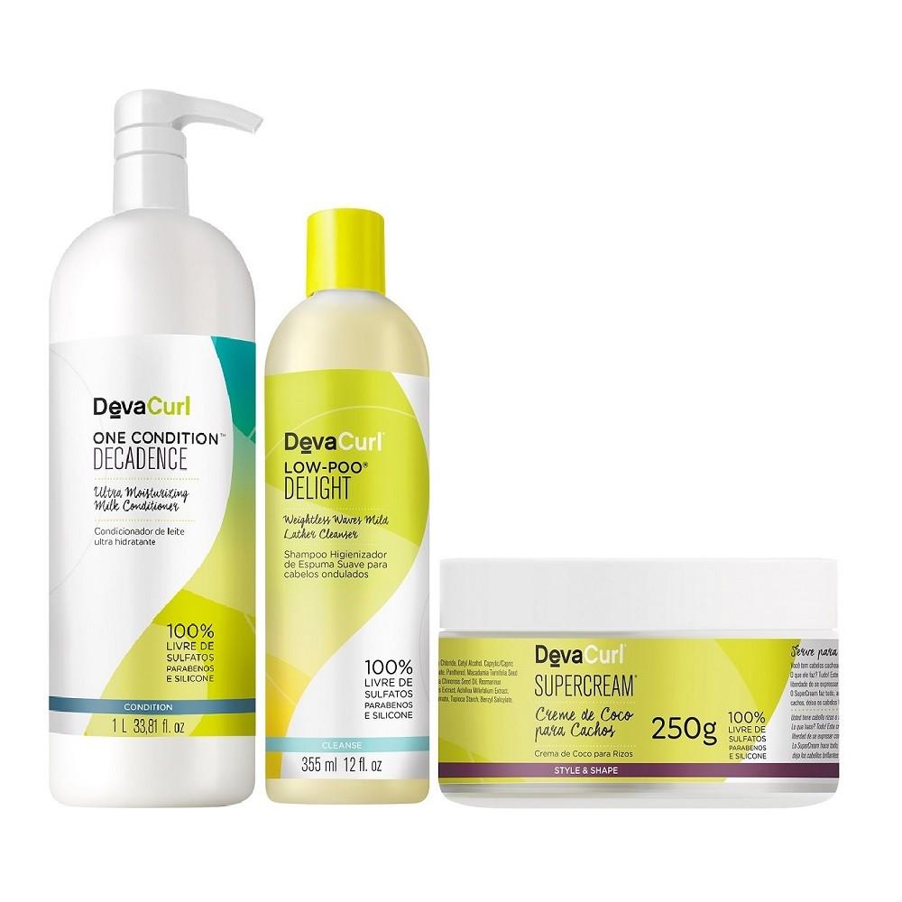 Deva Curl Tratamento Especial (3 Produtos)