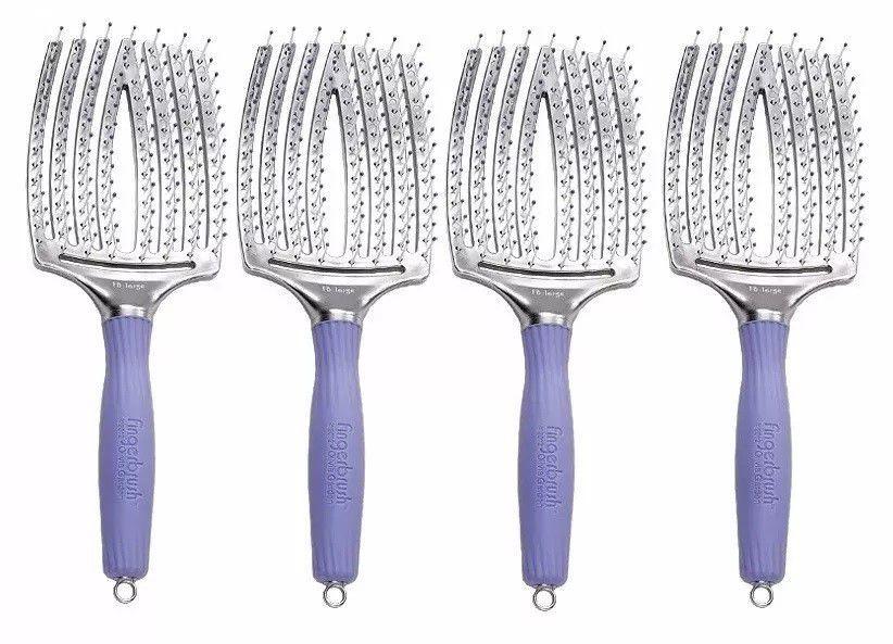 Escova Olivia Garden Fingerbrush Paddle Larga (4 Unidades)