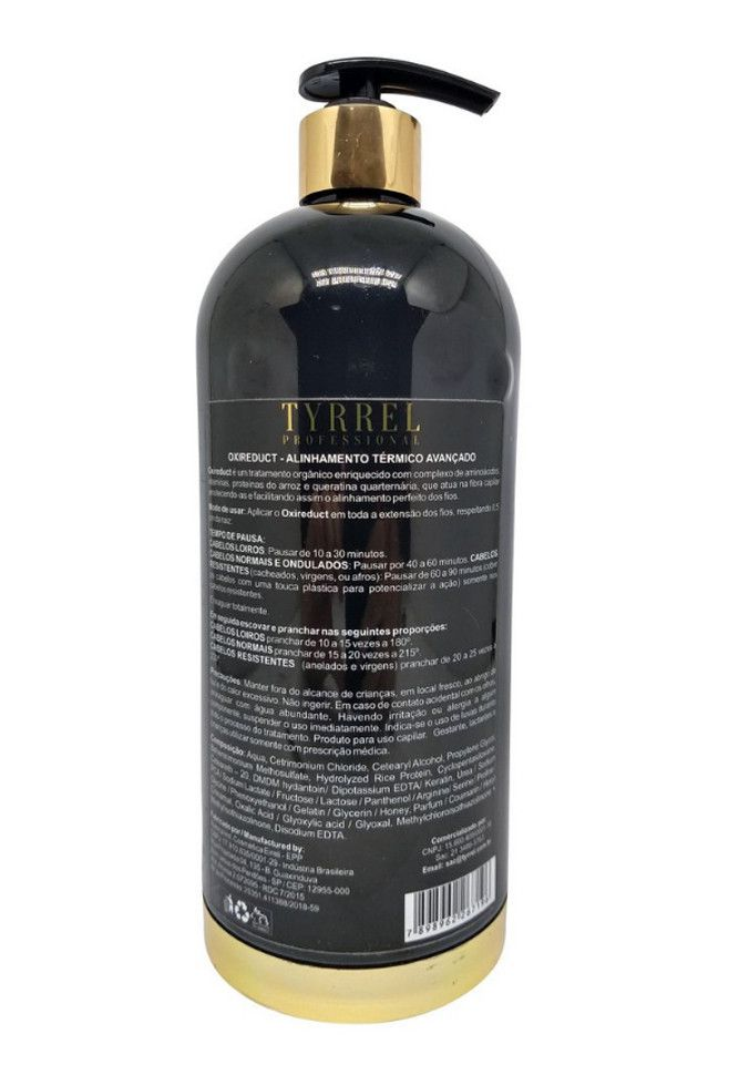 Escova Progressiva Tyrrel Oxireduct 1000ml
