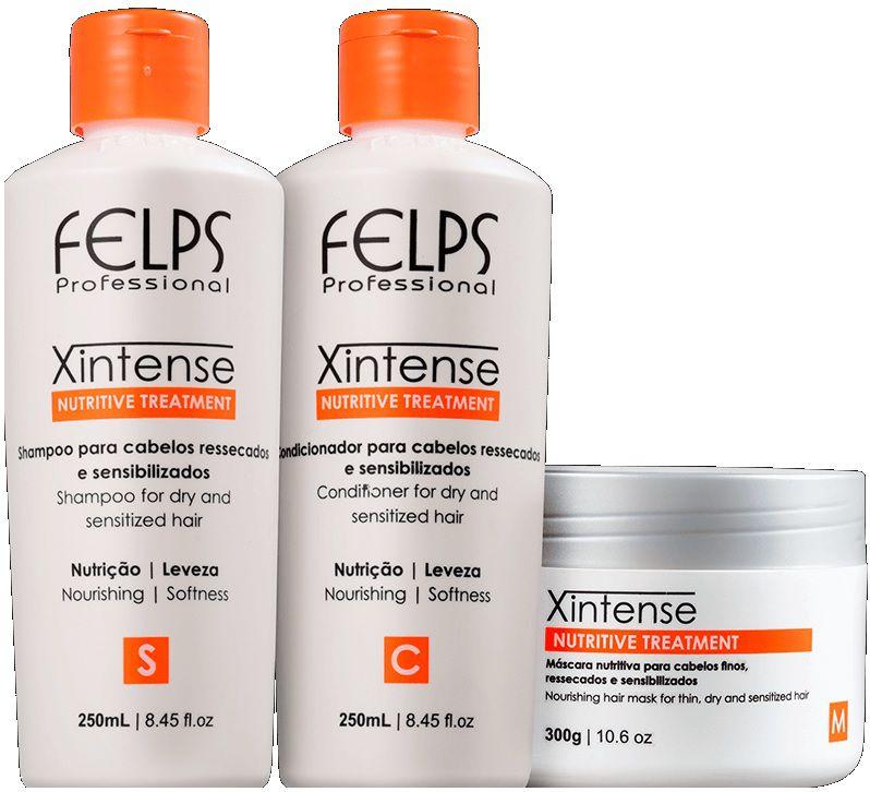 Felps Kit De Tratamento Nutritivo Xintense - 3 Produtos